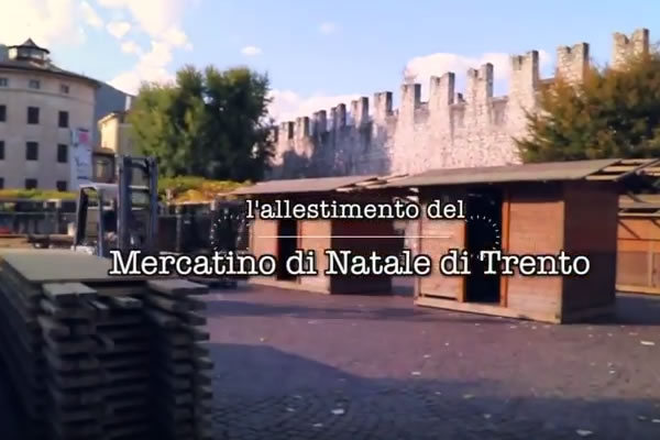Trento's Christmas Market Video