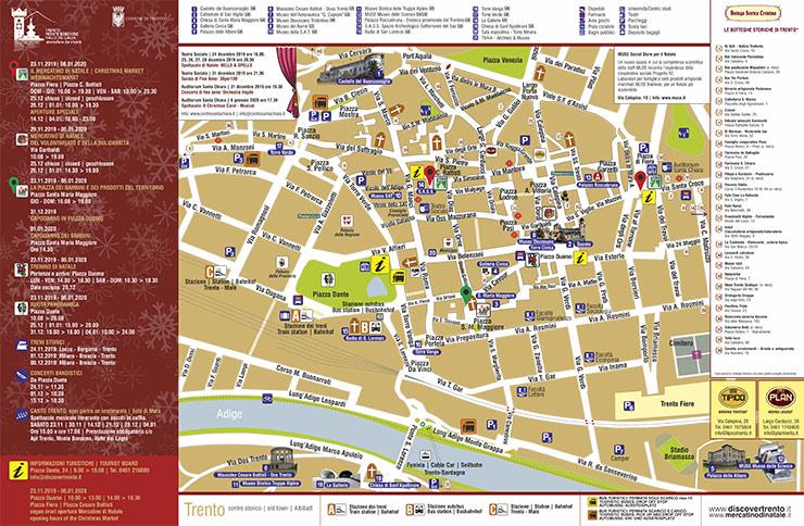 Cartina Trentino.Come Arrivare A Trento